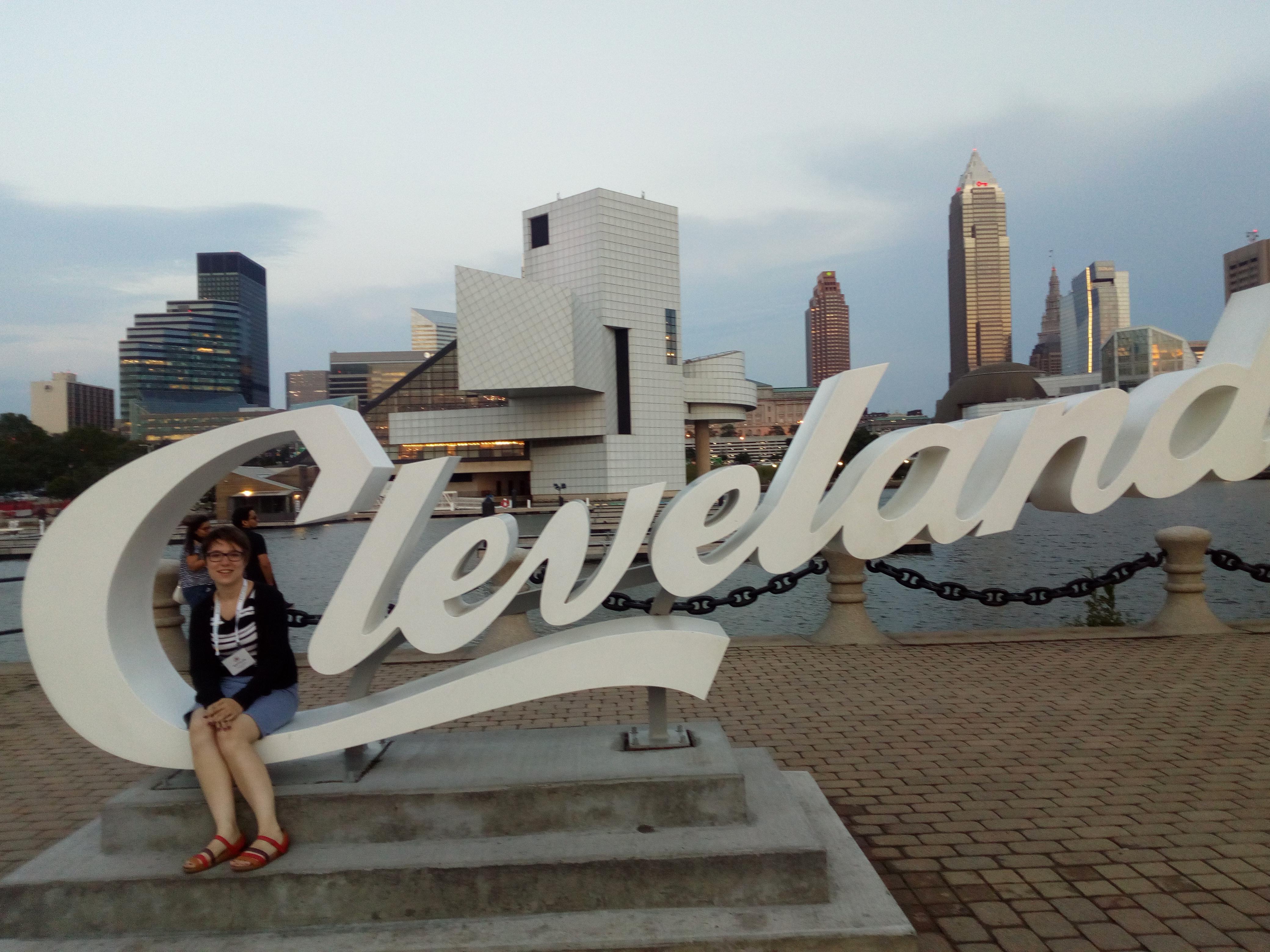 Moi sur inscription Cleveland