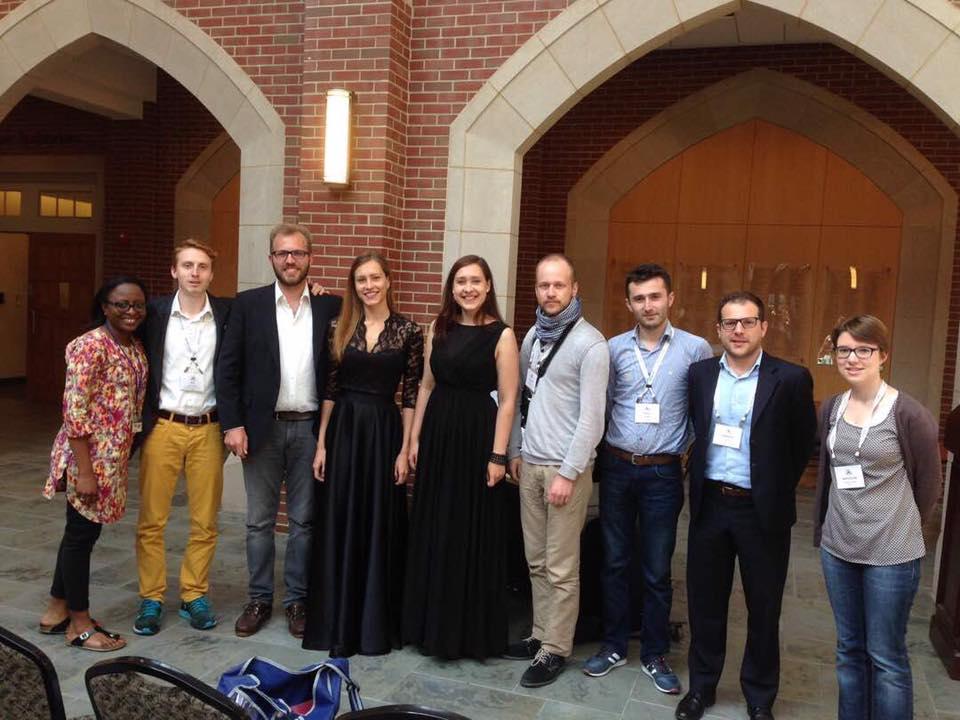 Quelques ''jeunes'' anciens dont Arnaud Hoc et Mathilde Wattier (St Stan Mons)